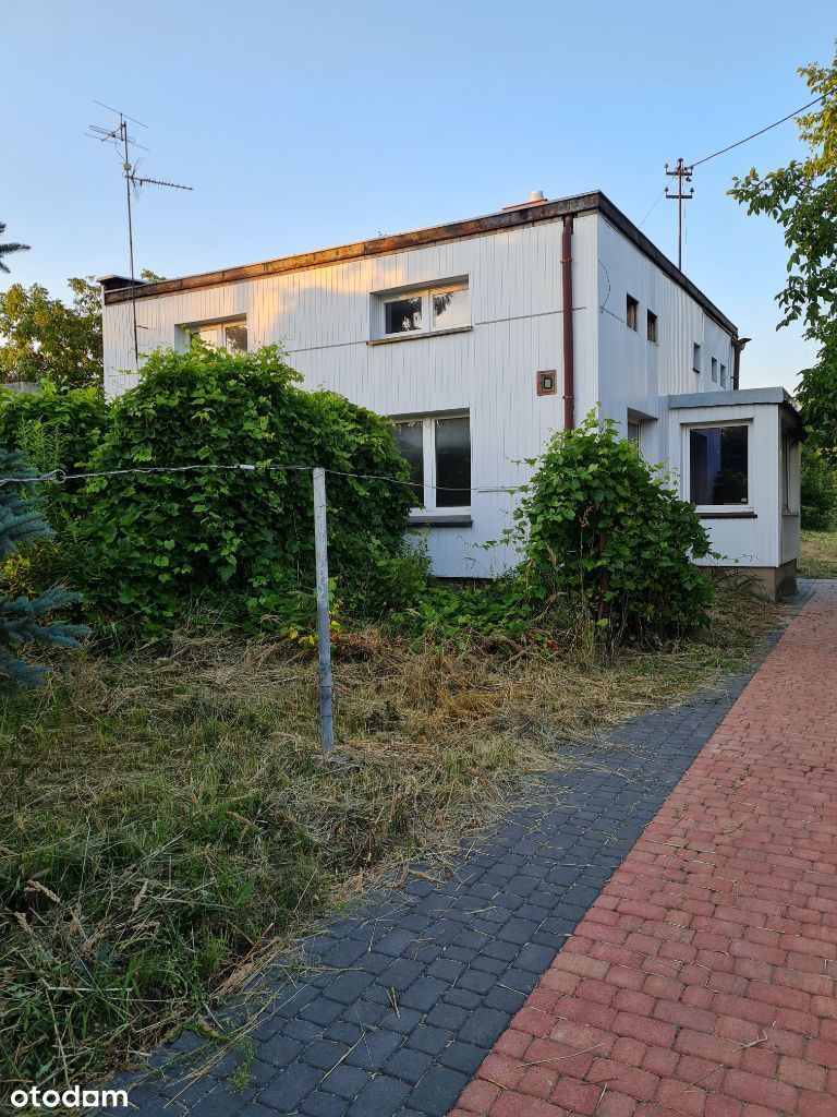 Dom 120m z ogrodem, garaż, pom. gosp. - BEZPOSR.