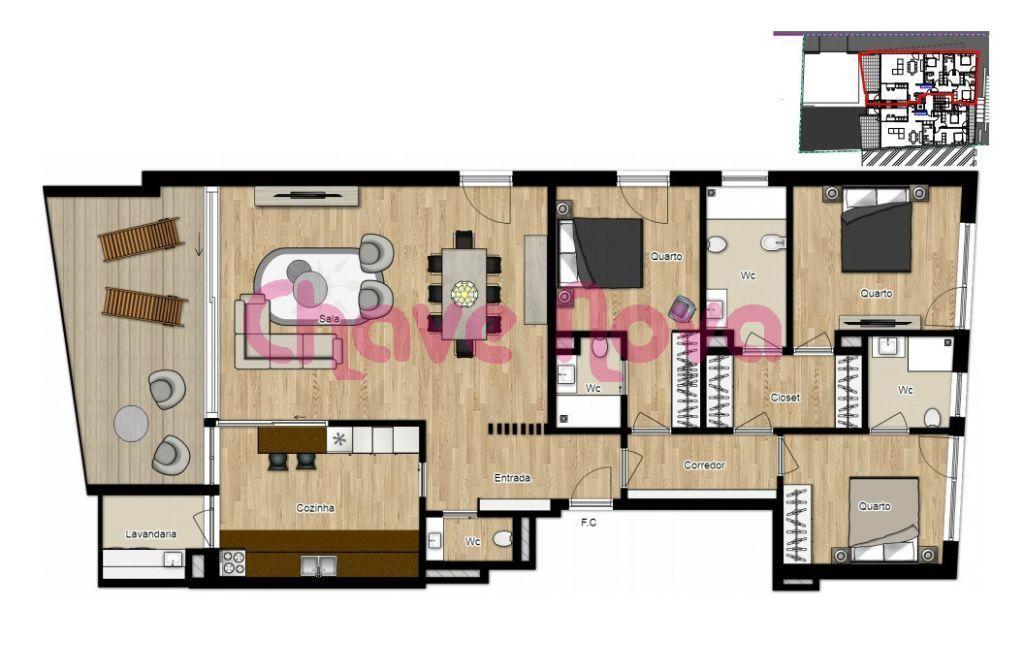 Apartamento para comprar, Canidelo, Vila Nova de Gaia, Porto - Foto 14