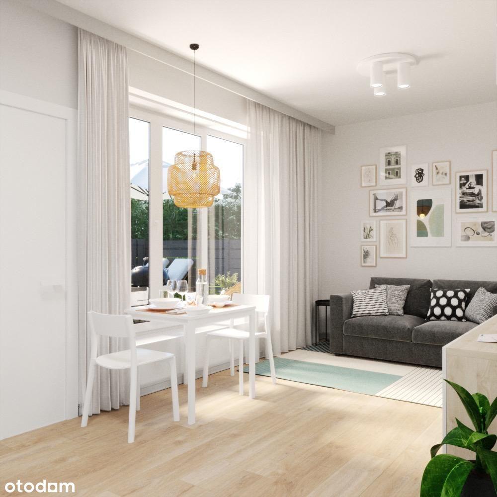Piękne, jasne mieszkanie z dużym ogrodem!