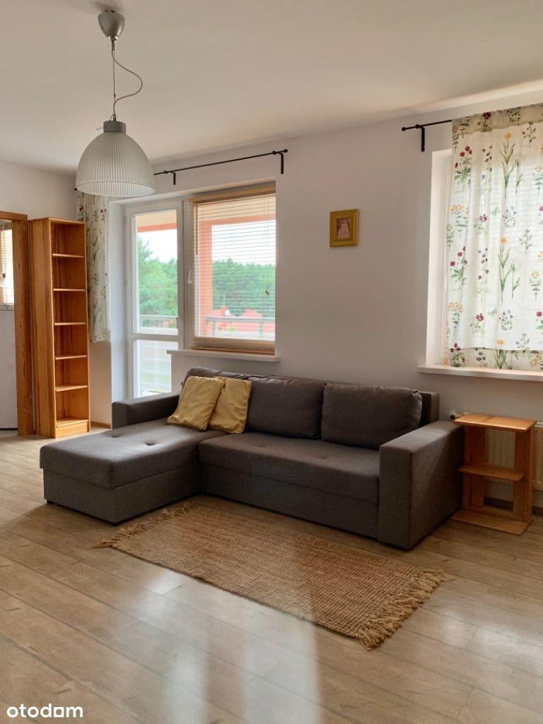 Słoneczne przestronne umeblowane mieszkanie 36m2