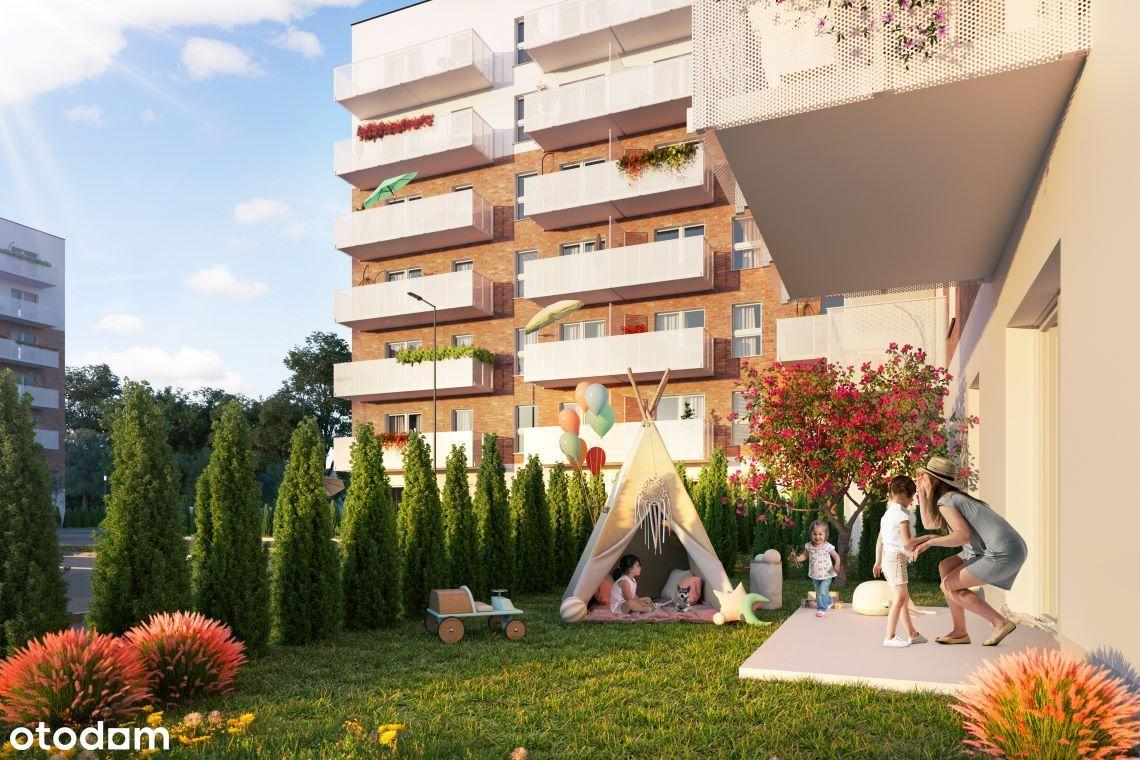 Największe 4 pok. mieszkanie w centrum z ogródkiem