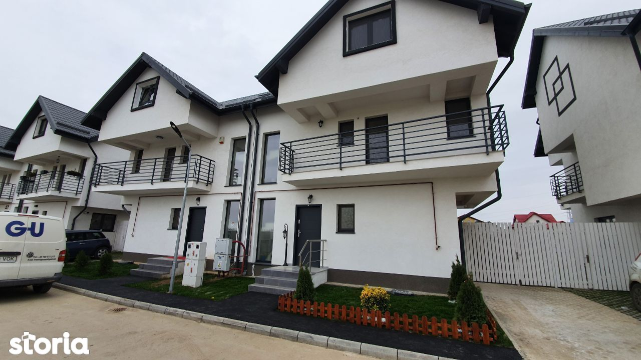 CASA NOUA ,casa 5,6 camere + curte - Dobroesti, Fundeni, Pantelimon