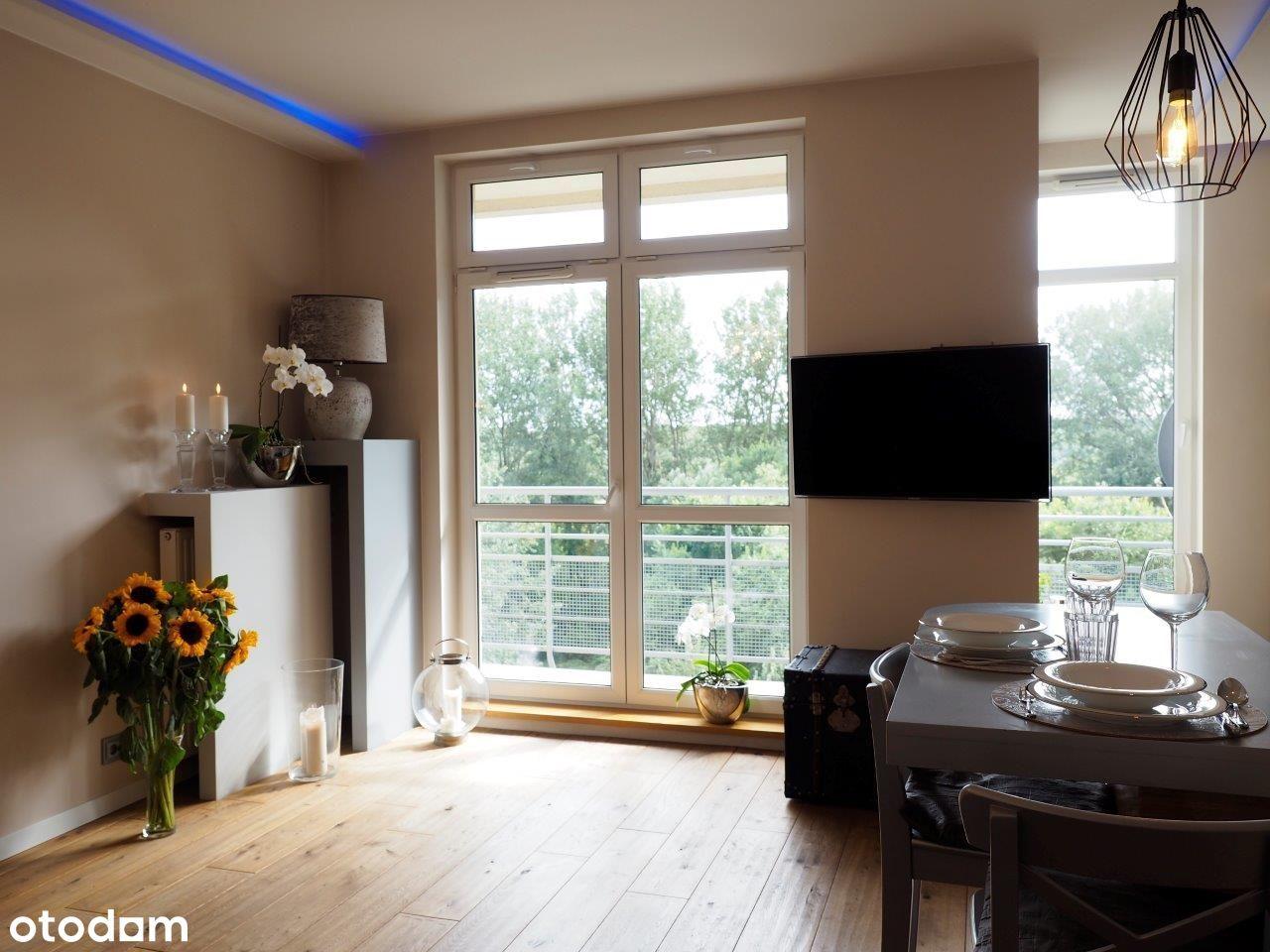Apartament premium ze wspaniałym widokiem na Wisłę