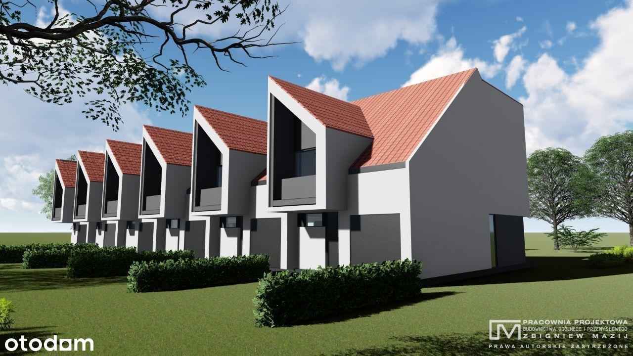 Domy 130m2 w zabudowie szeregowej Kątki Świdnica
