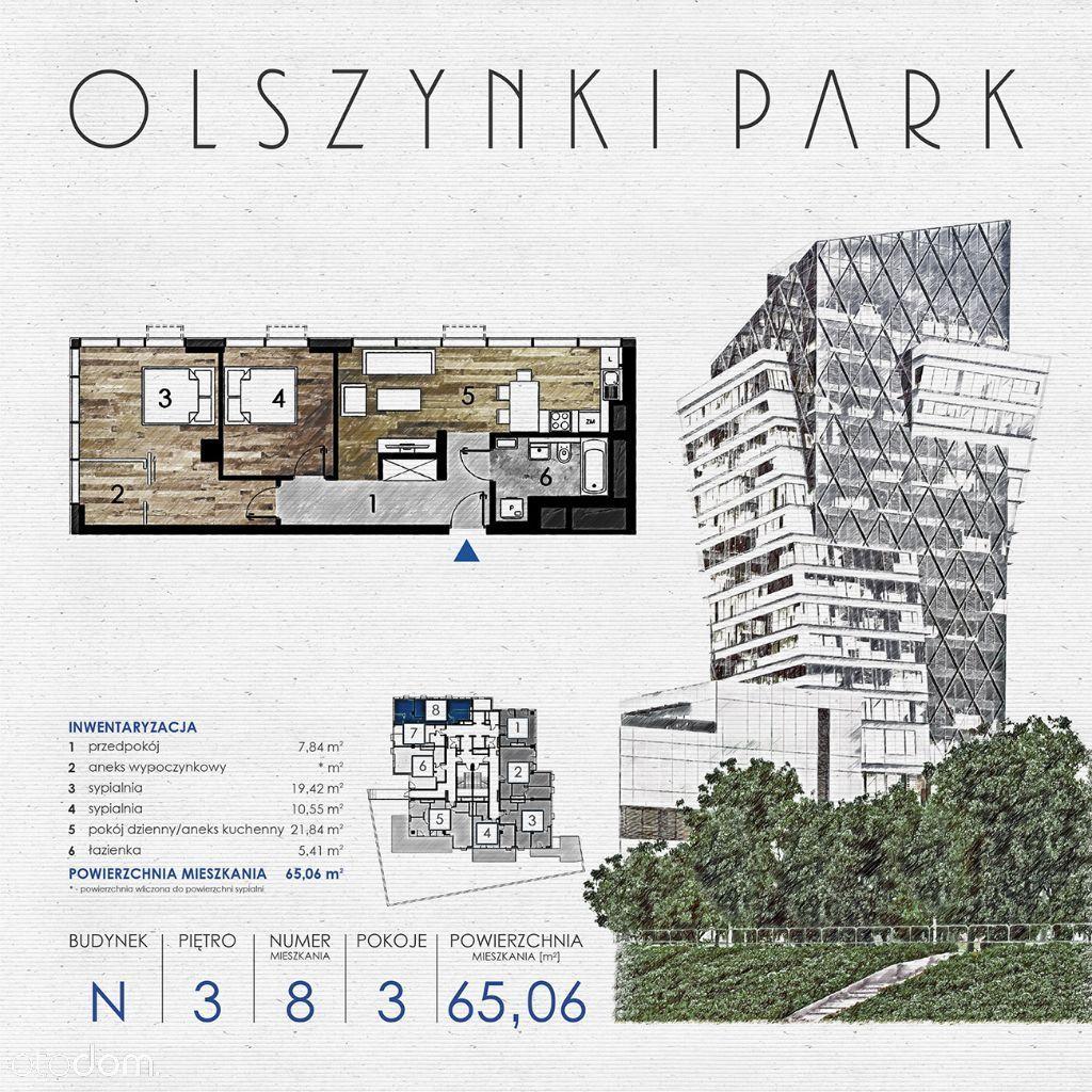 Olszynki Park Apartament N8