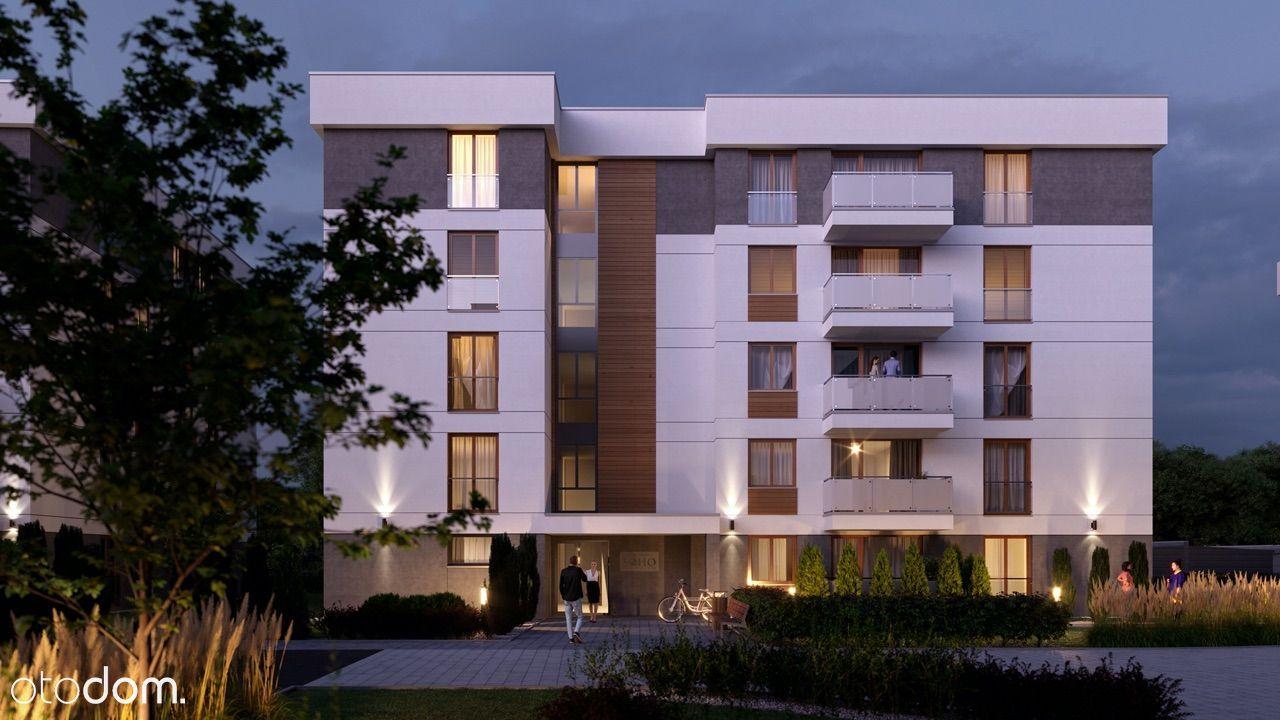 mieszkanie 54,24m2 3-pokoje Apartamenty SOHO Kożmi