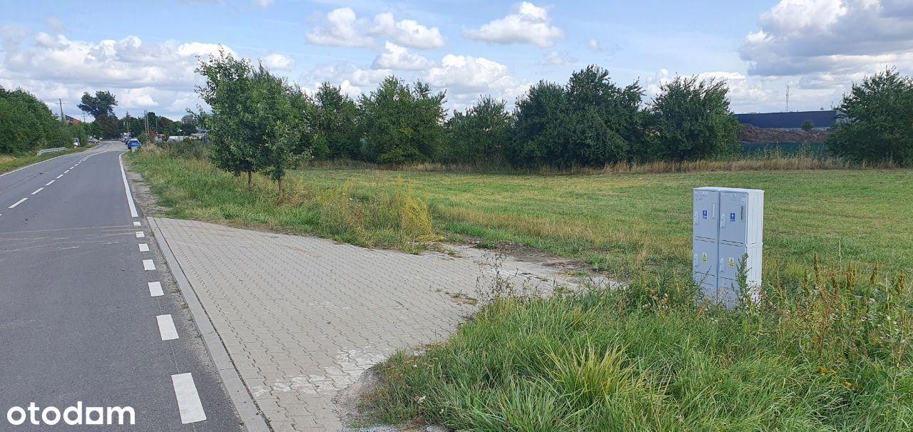 Działka Tarnowo Podg 4117 m MPZP przyłącza projekt