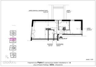 Mieszkanie 187a/4 pow. 63,10 m2