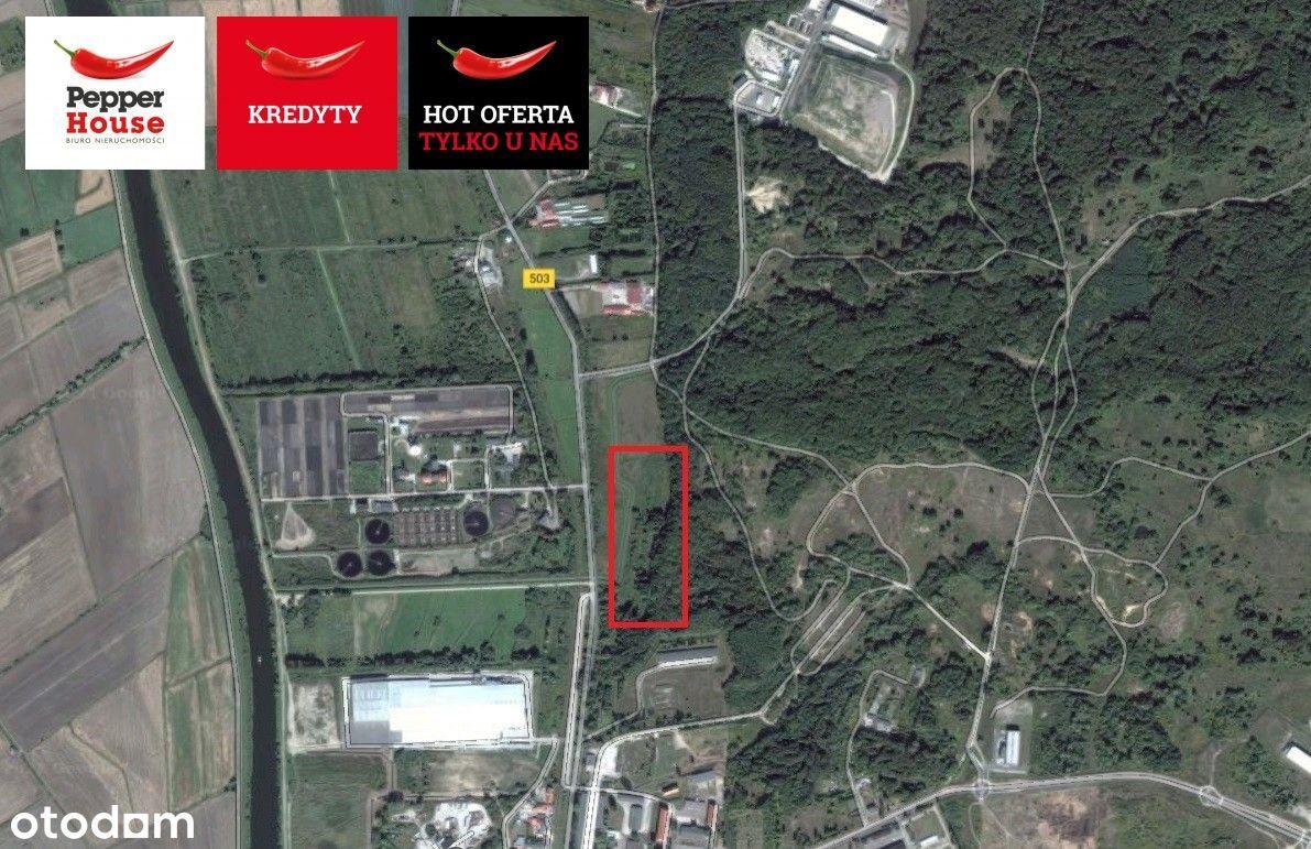 Działka przemysłowa w Elblągu
