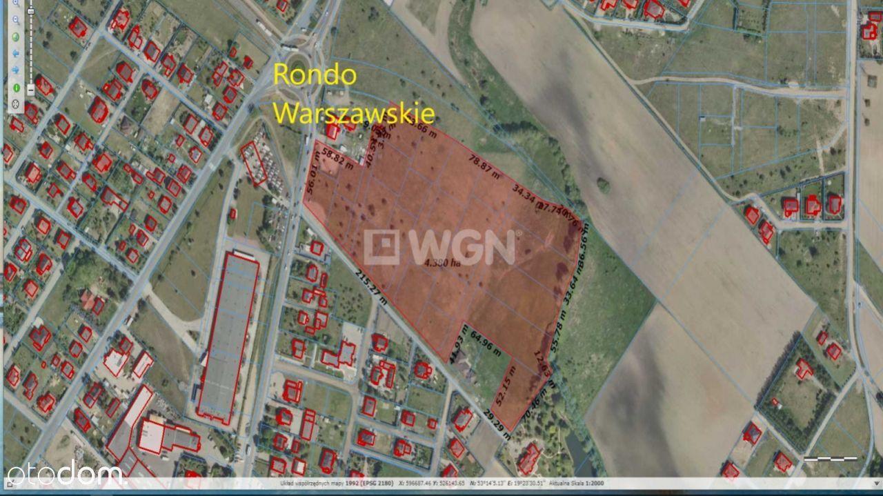 Działka, 40 498 m², Brodnica