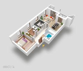 Mieszkanie 3 pokojowe z osobną kuchnią i loggią