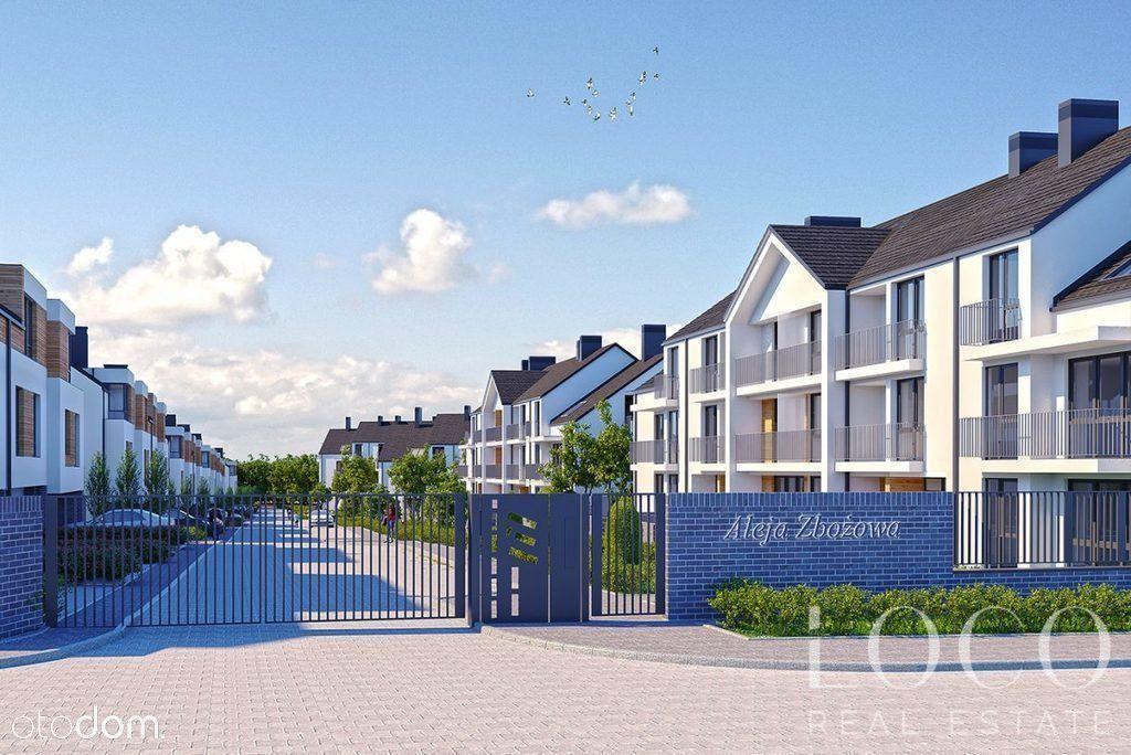 Mieszkanie na parterze z ogródkiem i loggią