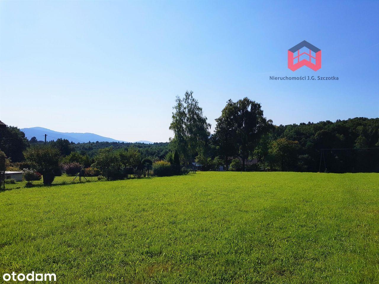 Działka Budowlana, 1359m2, Piękne Widoki Na Góry