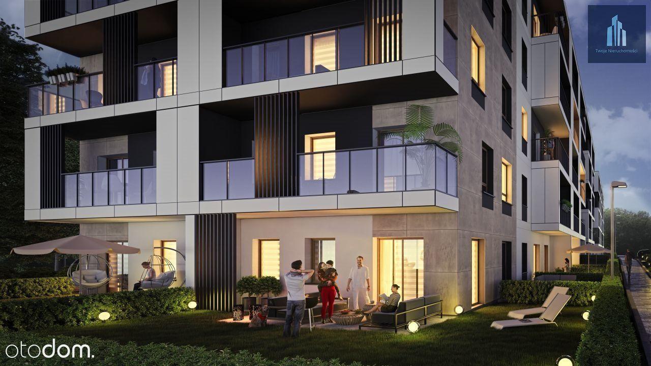 Piękne i nowoczesne mieszkanie z ogródkiem