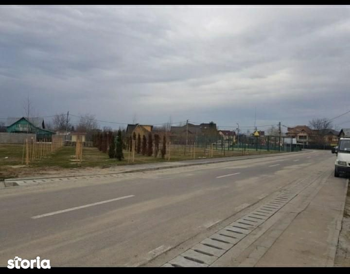 teren Bascov, cartier privat