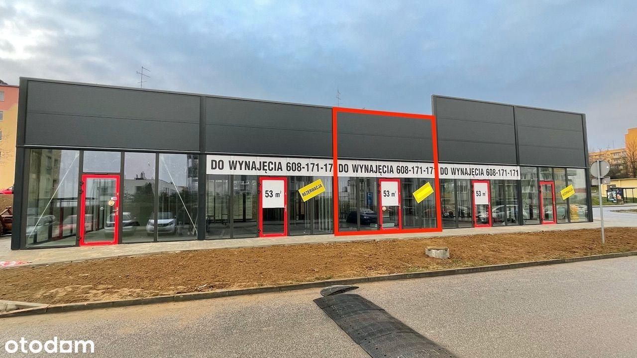 Lokal 53m2 handl-usług Gdańsk Chełm Cieszyńskiego