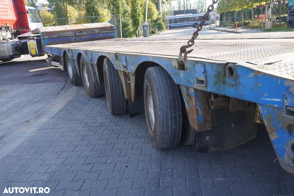 Nooteboom OSDS-58-04 , 4 axles , expanded , 13,15 x 3,07m , hydraulic ramp - 12
