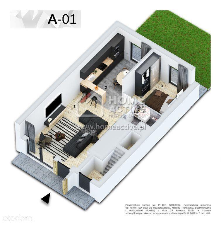 Apartament, 54,30m2, Szczyrk