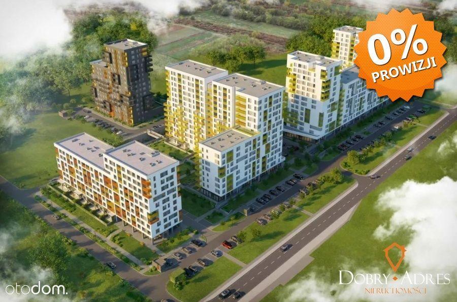 Apartament 40m2, loggia Przybyszówka