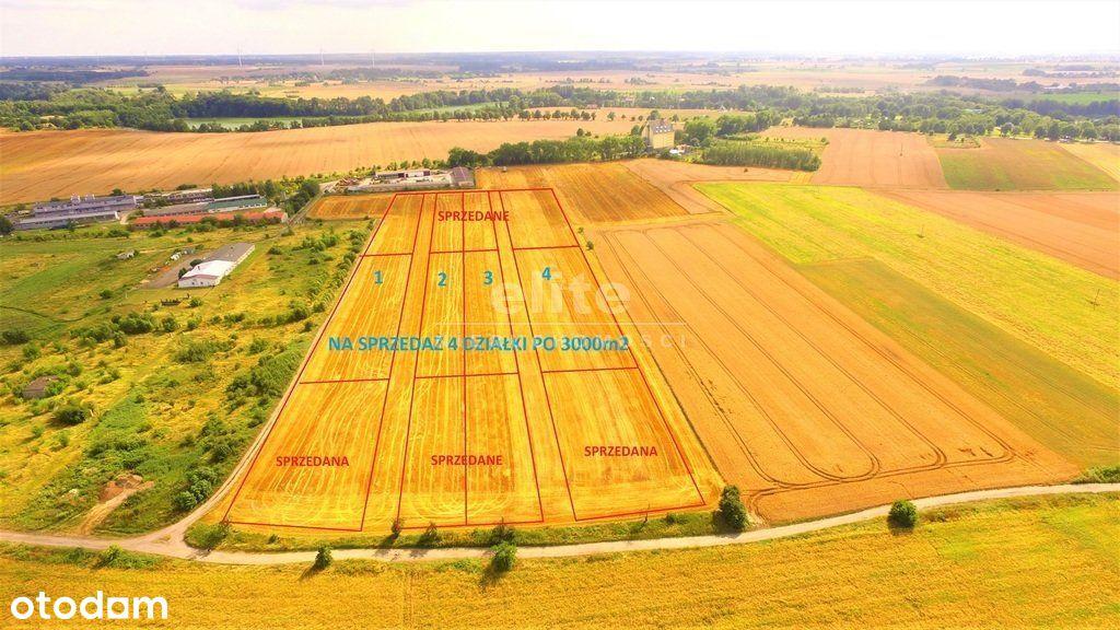 Choszczno działka 3000m2 zabudowa jednorodzinna