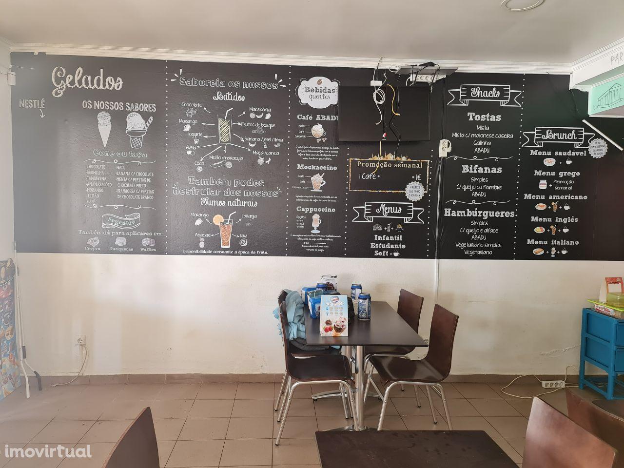 Trespasse-Negócio de Restauração/Café em Marinhais