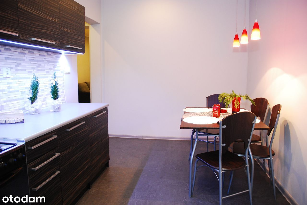 Umeblowane mieszkanie, blisko centrum, 2 pok. I p
