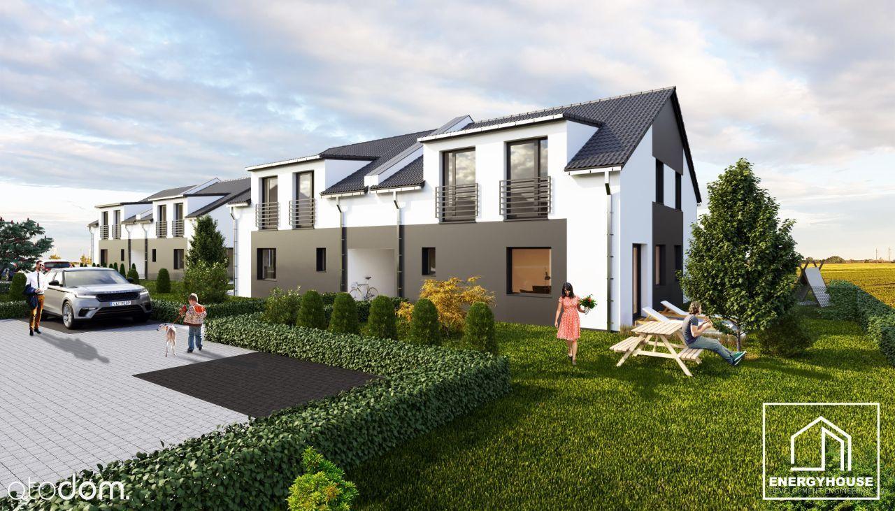 Nowe mieszkanie dwupoziomowe 81,14 mkw z ogrodem