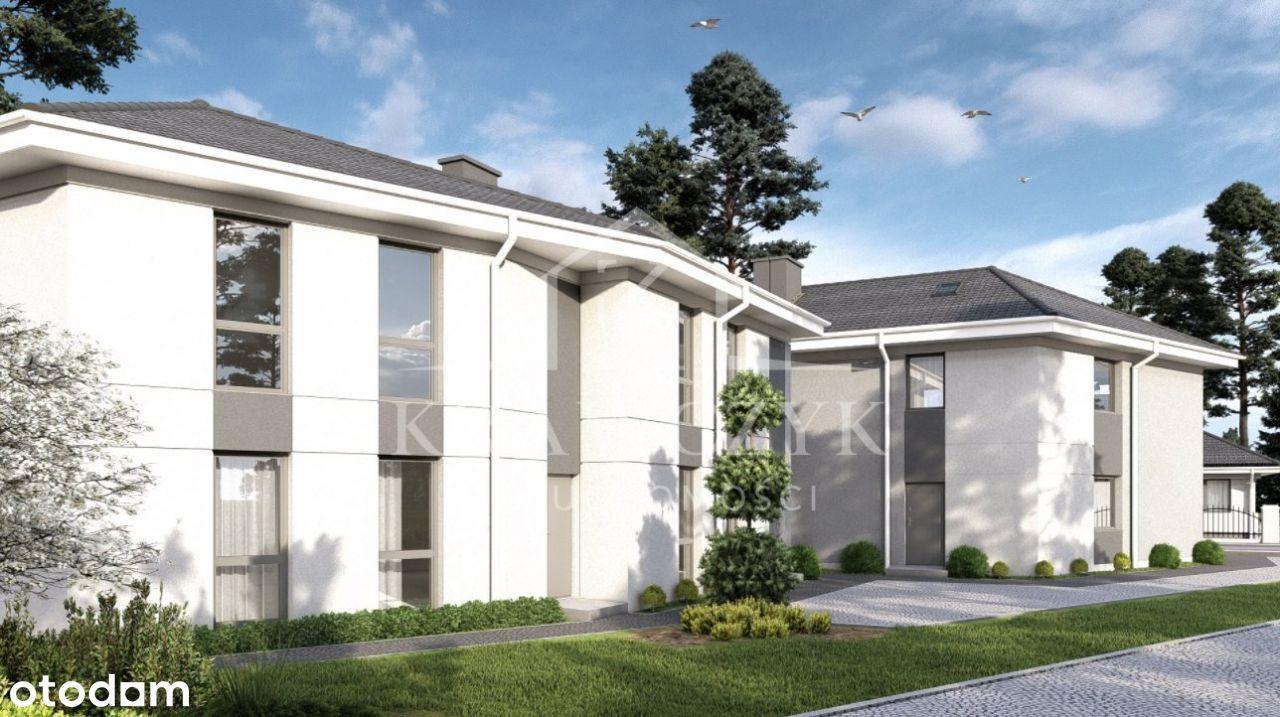 Apartamen w Mierzynie za 7500 zł./m2 z ogródkiem