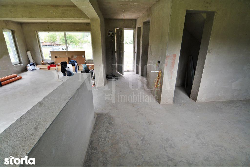 Casa individuala cu 502 mp de teren, la 15-20 min de Cluj-Napoca