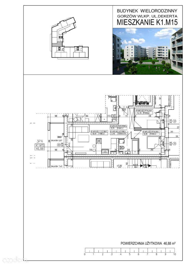 Mieszkanie 3 pokojowe w nowym budownictwie !