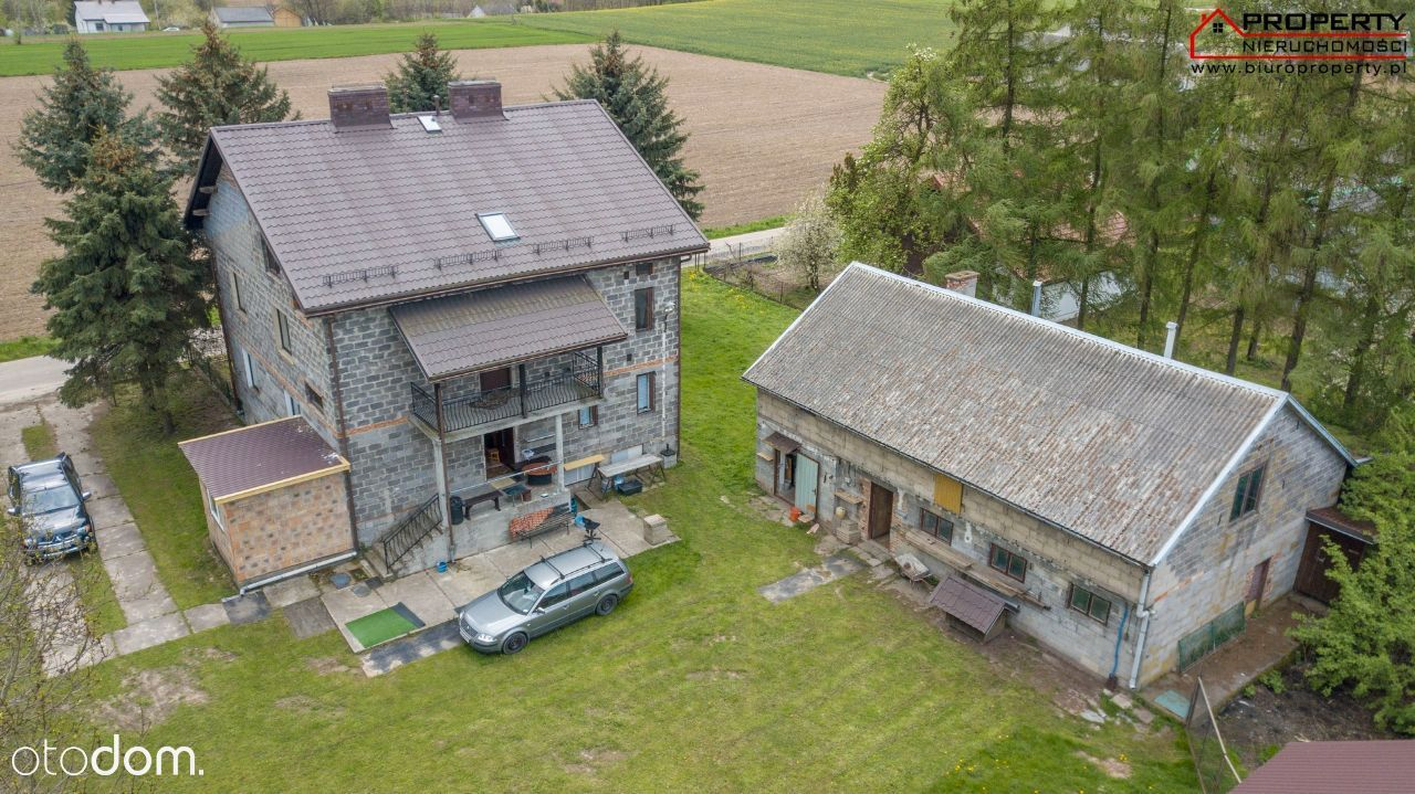 Dom 189m2, działka 7800m2, Przemyków - gm. Koszyce