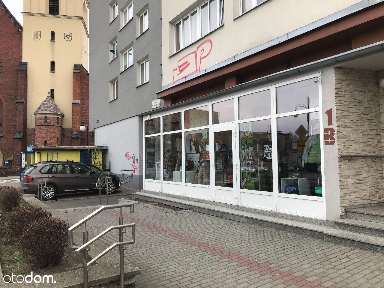 Lokal użytkowy w centrum Koźla, umeblowany sklep !