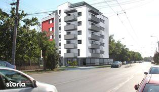 Apartament cu 2 camere, 56 mp utili, decomandat, etaj 2
