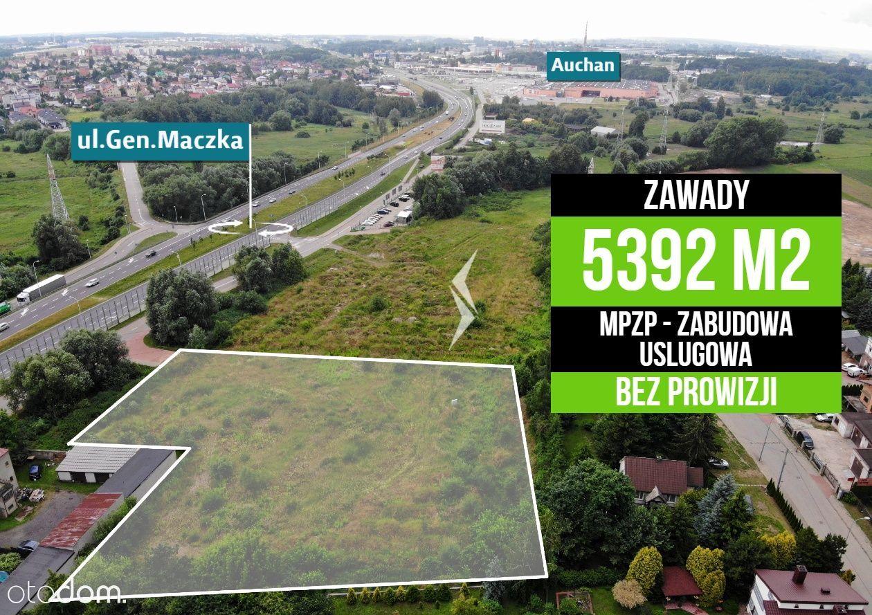 5392m2 / Gen. Maczka - pod zabudowę usługową