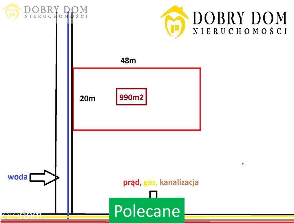 Działka w Dobrzyniewie Dużym - Atrakcyjna Okolica!