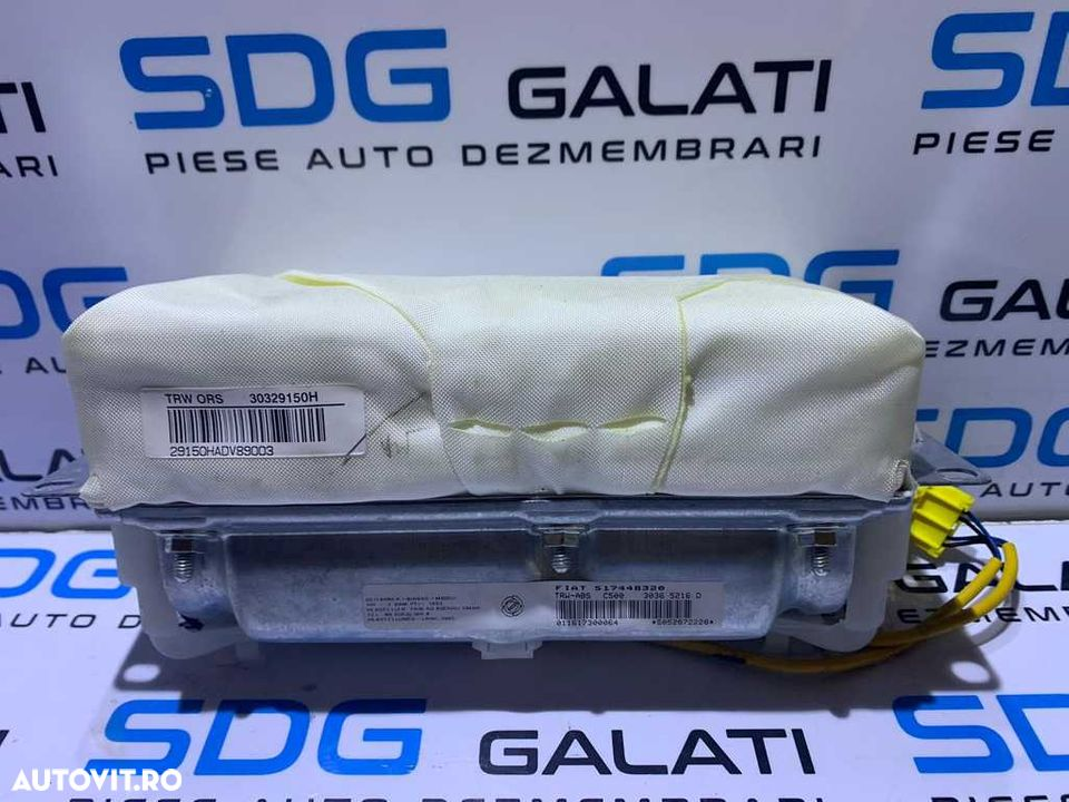 Airbag Pasager Fiat Croma 2005 - 2010 Cod 517448320 30329150H 30365216D - 1