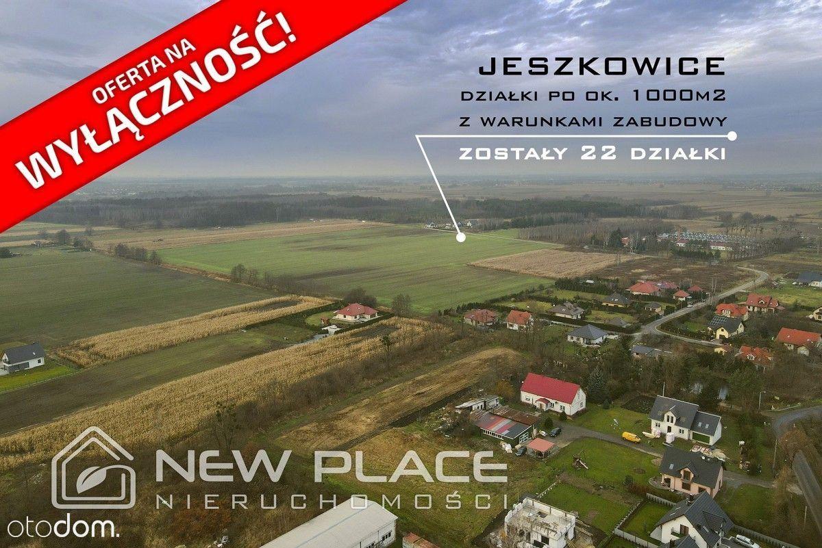 Gmina Czernica- Jeszkowice, działki budowlane.