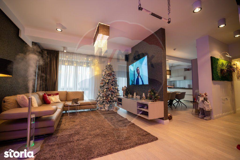 Penthouse de lux,  mobilat  si utilat ultra modern, Piata  Unirii