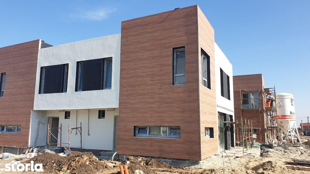 casa mediteraneana comuna Berceni cartierul nou apropiere metrou