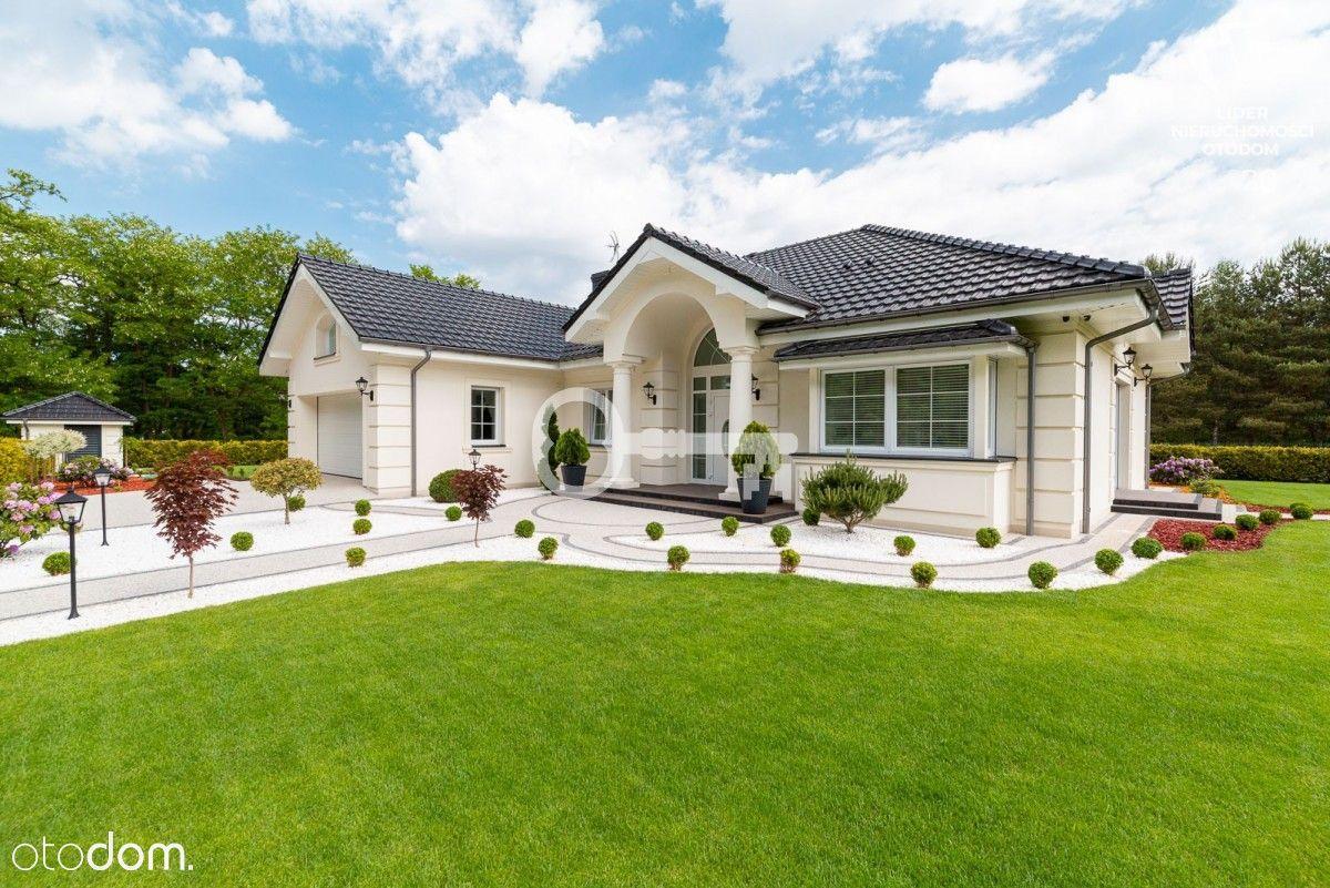 Nowy, gotowy, parterowy dom w sąsiedztwie lasów