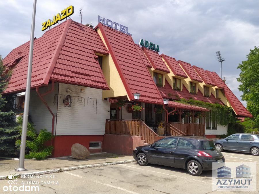 budynek hotelowo-restauracyjny w Polkowicach