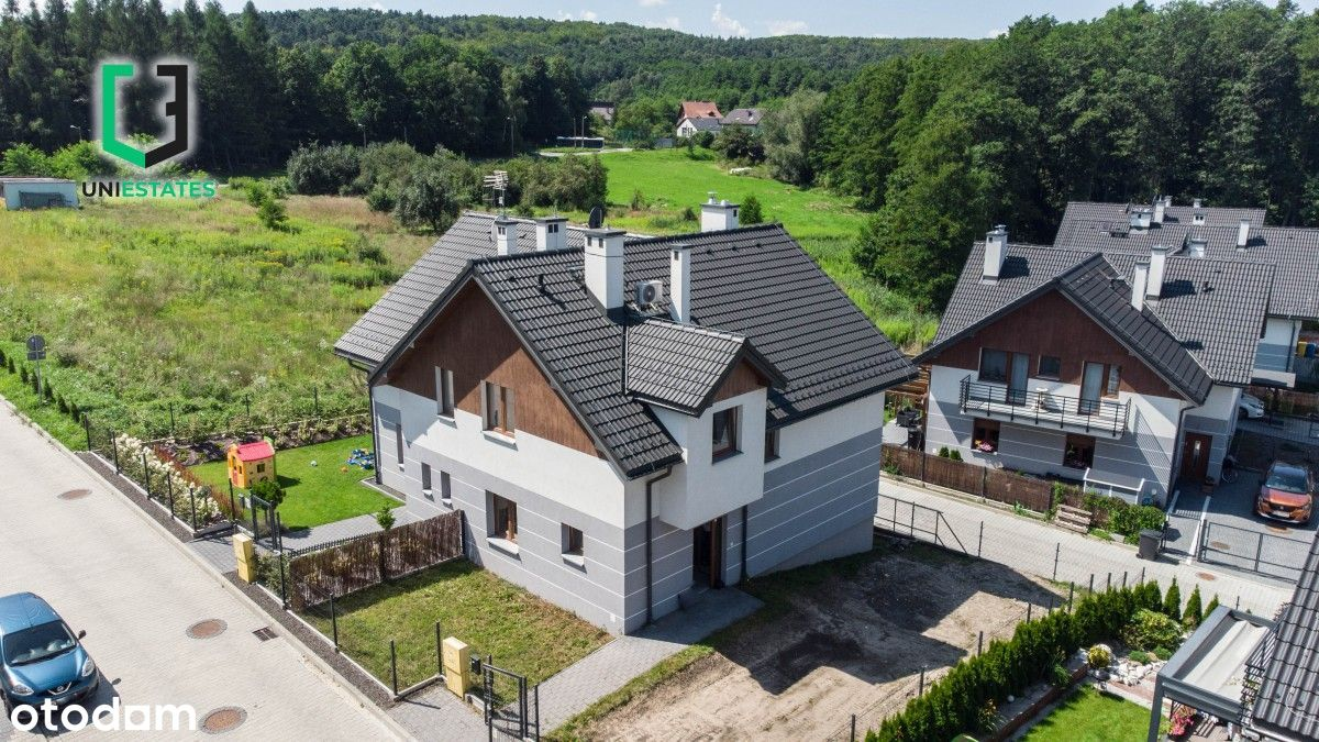 Bliźniak  Cicha okolica  5 pokoi + ogród   2018r