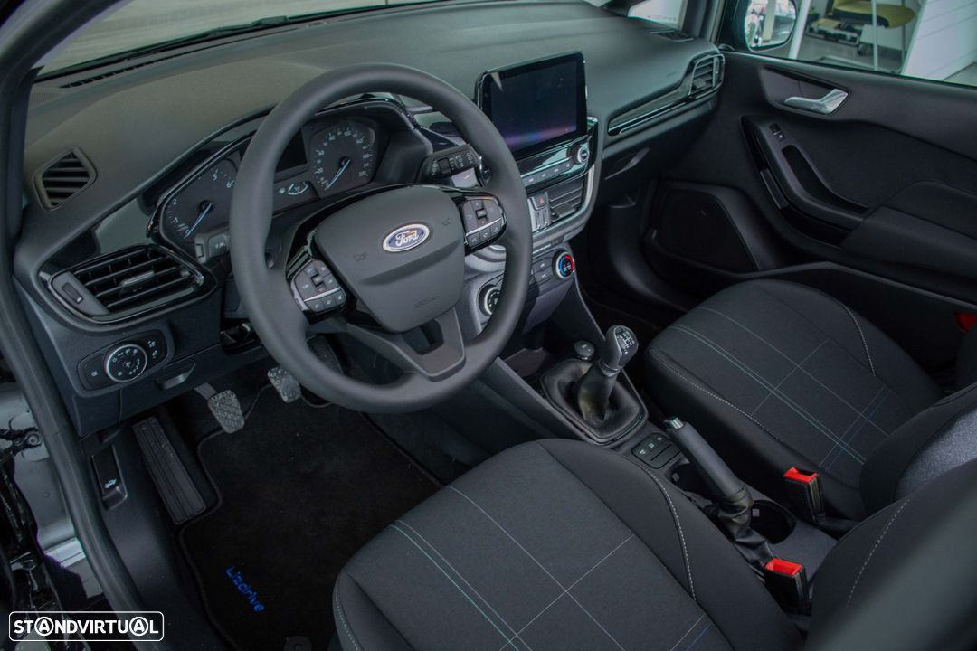 Ford Fiesta CONNECTED 1.1 TI-VCT (S&S) - 13
