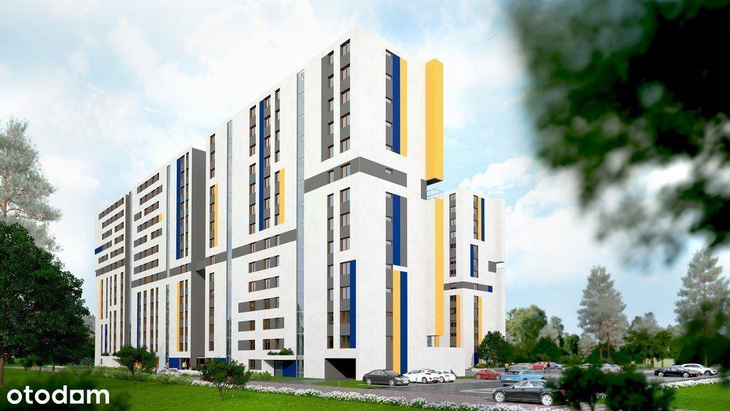 Dwustronne mieszkanie z loggią