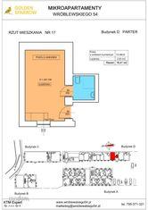 Mieszkanie nr 17 (Budynek D) SPRZEDANE