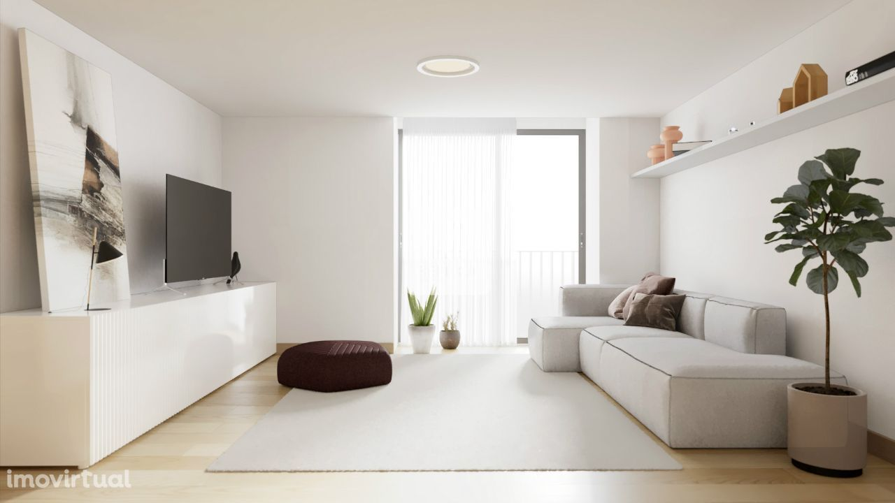 Apartamento T2 próximo ao Cais de Gaia