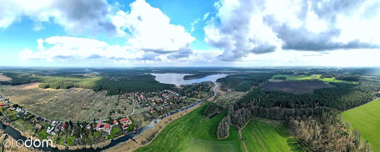 Piękna Działka Pod Zabudowę - Rzeka, Las, Jezioro