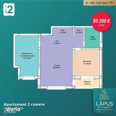 LĂPUŞ Residence - Apartamente De LUX - Apartament 2 camere - Tip 2