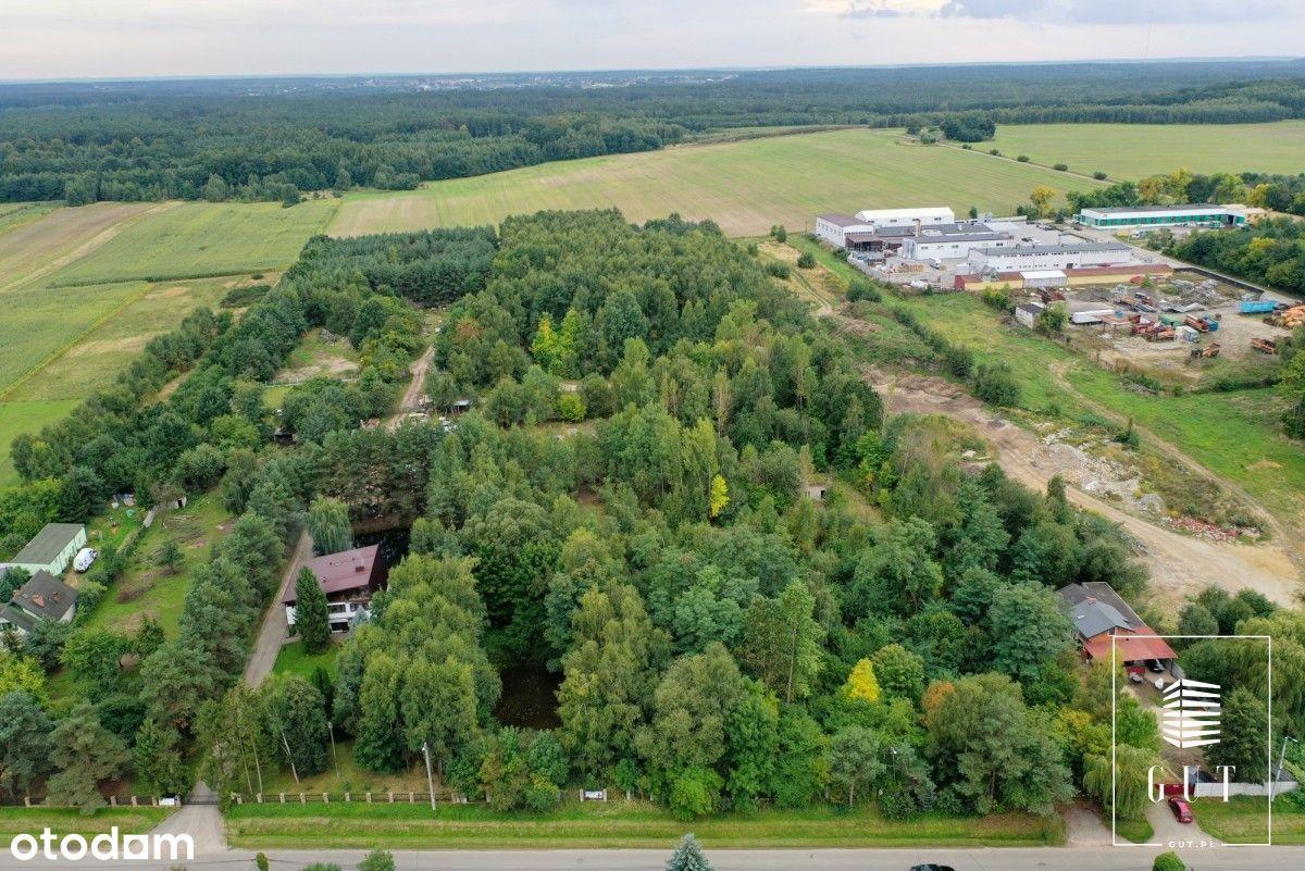 Działka ~1,75 ha Kłobuck