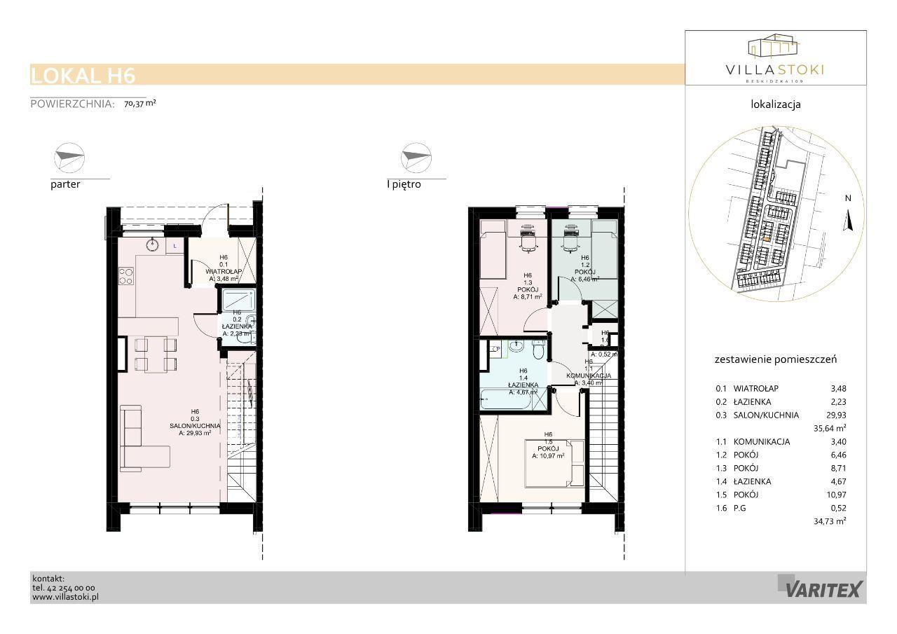 Dom typu 75 - Villa Stoki (dom H.06)